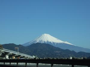 由比からの富士山