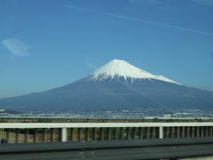 富士川橋からの富士山