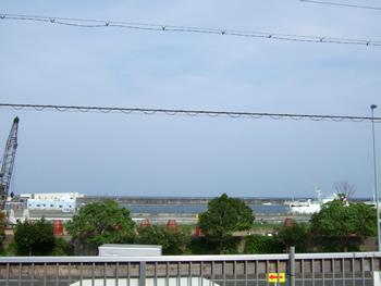 焼津港景色