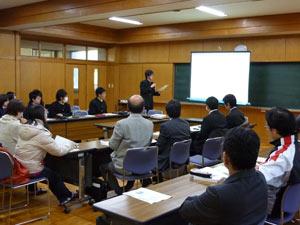 静岡情報産業協会・教育研修委員会の事業に参加