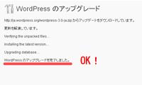 WordPress(ワードプレス)の簡単バージョンアップ手順(4)