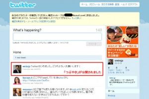 Twitter(ツイッター)の使い方「ツイートする」-2