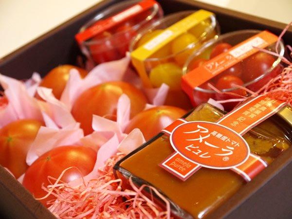 アメーラトマト日本農業賞特別賞を祝う会のお土産