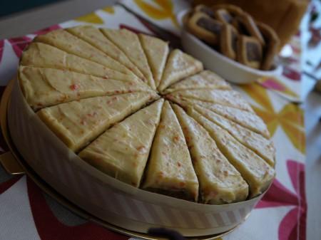 ベルベジの人参とオレンジピールのケーキ