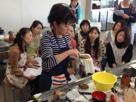 キッチンスタジオmogu(モグ)レッスンin由比漁協!
