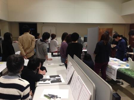 デザイン ア・ラ・モード2013(静岡デザイン専門学校)卒業制作展の準備