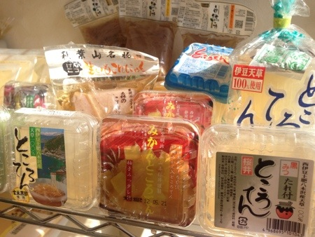 桜井蒟蒻店の商品ラインナップ