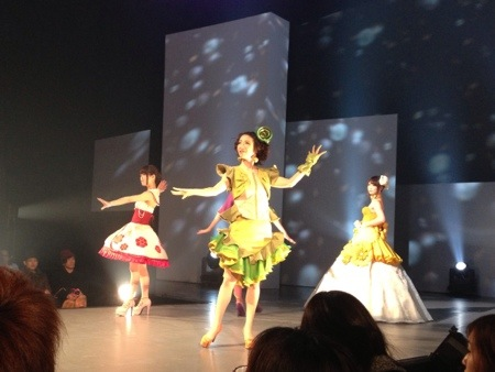 静岡デザイン専門学校の卒業展『デザイン ア・ラ・モード2013』ファッションショー