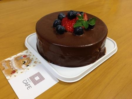すずとらさんの月替わりのチーズケーキ『ムース オ ショコラ』