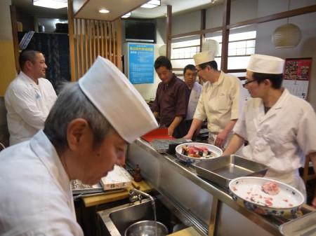 静岡県鮨協同組合の有志