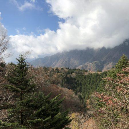 紅葉の八紘嶺
