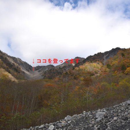 大谷嶺の扇
