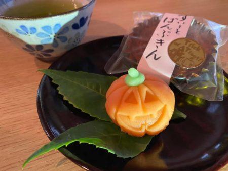 ハロウィン上生菓子